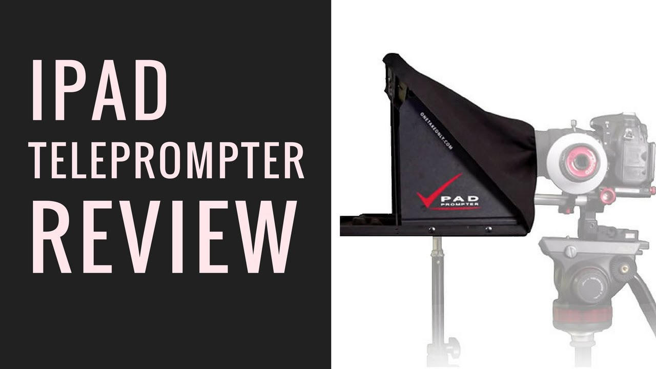 iPad Teleprompter REVIEW!!! (Pad Prompter)