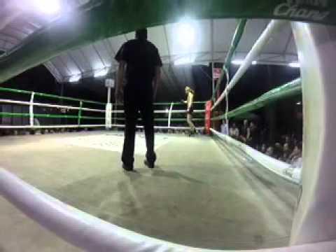Jack Lowe Muay Thai fight