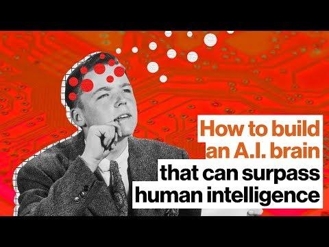 How to build an A.I. brain that can surpass human intelligence | Ben Goertzel