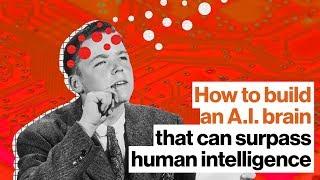 Baskın insan zekası | Ben Goertzel A. I. bir beyin oluşturmak için nasıl