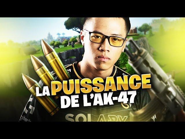 LA PUISSANCE DE L'AK-47 SUR FORTNITE