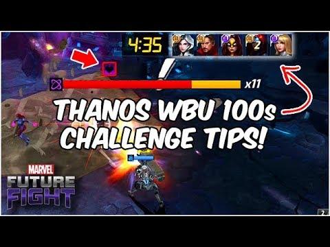 SMASH THANOS WBU CHALLENGES! TWO PROVEN METHODS! - Marvel Future Fight