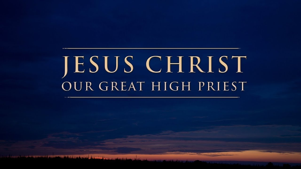 Image result for jesus our high priest
