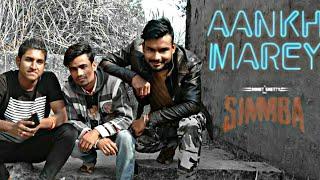 AANKH MAREY LYRICS – Simmba | Ranveer Singh & Sara Ali Khan ndance choreography by Rajdeep Das n2018