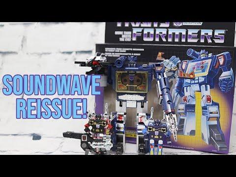 Transformers G1 Walmart Reissue Soundwave - Unboxing