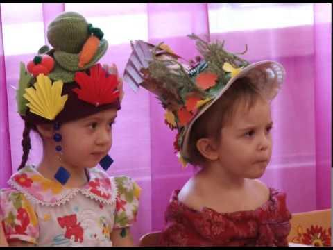 Шляпки в детском саду