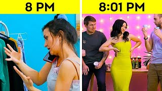 HOW GIRLS GET READY || Funny Moments And Helpful Clothing Hacks by 5-Minute FUN