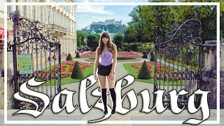 Gambar cover The Sound Of Music City - SALZBURG, AUSTRIA budget travel guide!