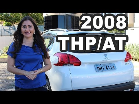 Test Drive Peugeot 2008 1.6 THP e 1.6 Flex