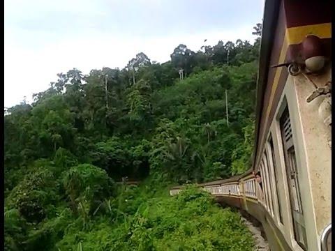 รถไฟไทย สายใต้ : ข.169 ขึ้นเทือกเขานครศรีฯ ลอดอุโมงค์ช่องเขา ทิวทัศน์แจ่ม