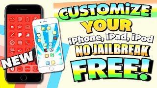 CUSTOMIZE iPHONE Without Jailbreak FREE! iOS 11 - NO JAILBREAK (iPhone, iPad, iPod Touch) iPad 検索動画 22