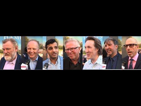 Hampstead – World Premiere Interviews – Brendan Gleeson, Jason Watkins, Phil Davis,