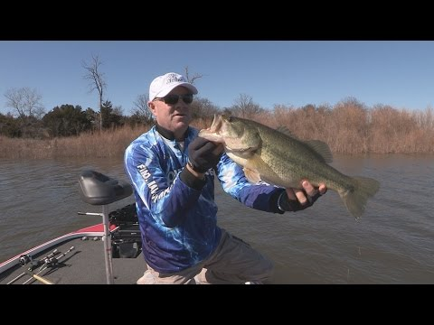 Fox sports outdoors southwest 12 2014 arbuckle lake for Lake hefner fishing report