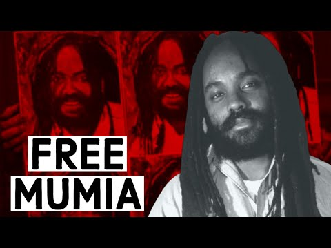 Activists demand the release of Mumia Abu-Jamal