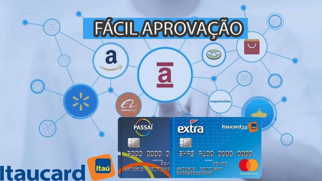 ITAUCARD EXTRA 2.0 E PASSAÍ PARA QUEM TEM SCORE BAIXO NO SERASA ... 41d2313920c36