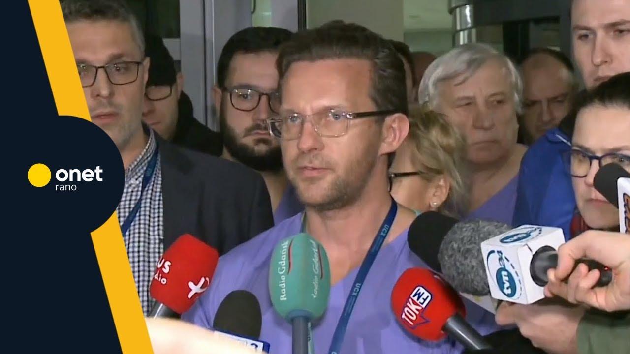 Atak na Pawła Adamowicza w Gdańsku.