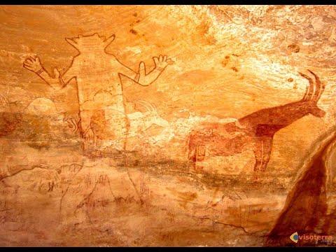 Africa 1: antichi graffiti rupestri nel deserto (Sahara)
