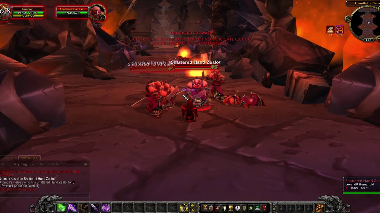 [AZEROTHCORE] Shattered Hand Blood Guard Event v1