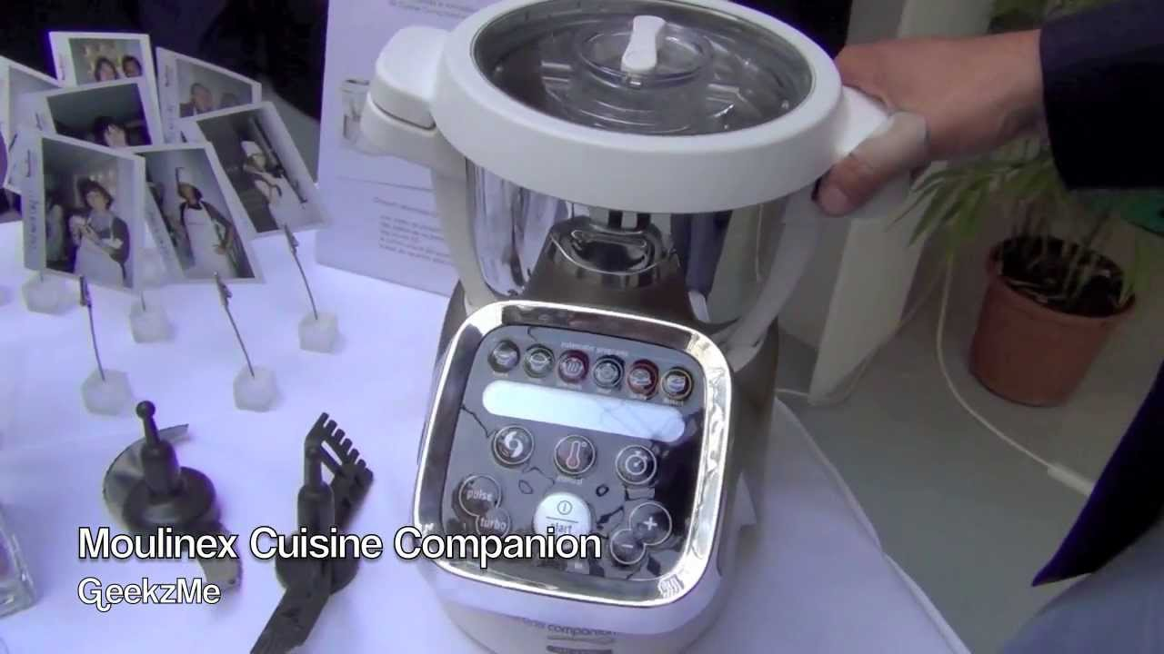 Moulinex cuisine companion pr sentation fr youtube for Cuisine companion