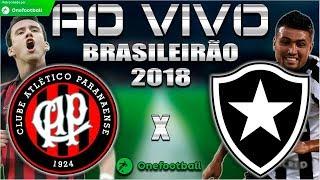 Atlético-PR 2x1 Botafogo | Brasileirão 2018 | Parciais Cartola FC | 31ª Rodada | 27/10/2018