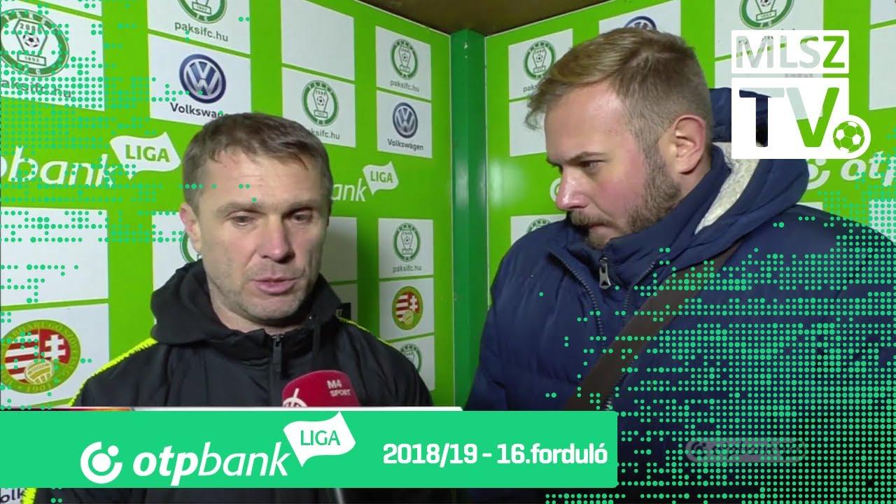 Edzői értékelések a Paksi FC – Ferencvárosi TC mérkőzésen