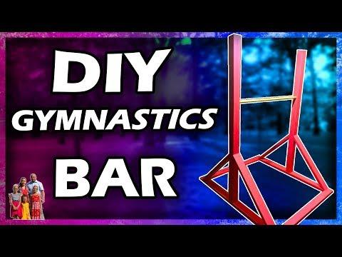 DIY Gymnastics Bar