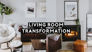 LIVING ROOM TRANSFORMATION + TOUR (2018) // Lone Fox