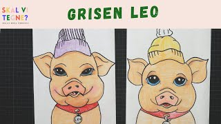 Skal vi tegne grisen Leo