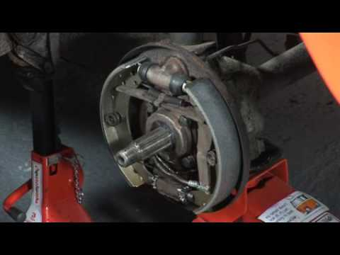 How to remove the rear Hub Nut on Your VW