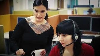 Töissä Elisassa - asiakaspalvelu