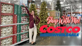 Come On Down To Costco!  New At Costco Shop With Me Holiday 2021 Finds! Christmas & More!