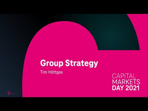1. Tim Höttges on Group Strategy & Q&A – Deutsche Telekom's Capital Markets Day 2021 #DTCMD21