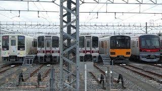 【東武30000系 31606F+31406F 10両に戻り 東上線仕様に改造完了!】31609F+31409Fも転属改造開始か? 51008Fには「休車札」取付。6155F運用離脱継続中。