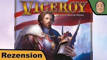Viceroy - Brettspiel - Spiel - Review mit Alex