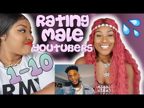 RATING MALE YOUTUBERS 1-10 FT SUNBER HALLOWEEN GIVEAWAY