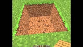Minecraft Gizli Ev - Oltayla girilen ev
