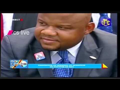 RDC:PRESTATION DE SERMENT ET PASSATION DU POUVOIR