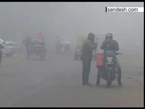 Cold Wave Fog in Lucknow