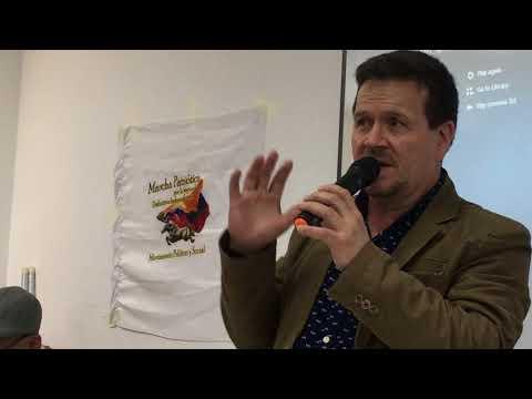 Conversatorio con Huber Ballesteros en Londres