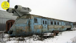 This Rocket Train Was Once The Future Of Soviet Railroads, But Now The Relic Lies Rusting In Peace