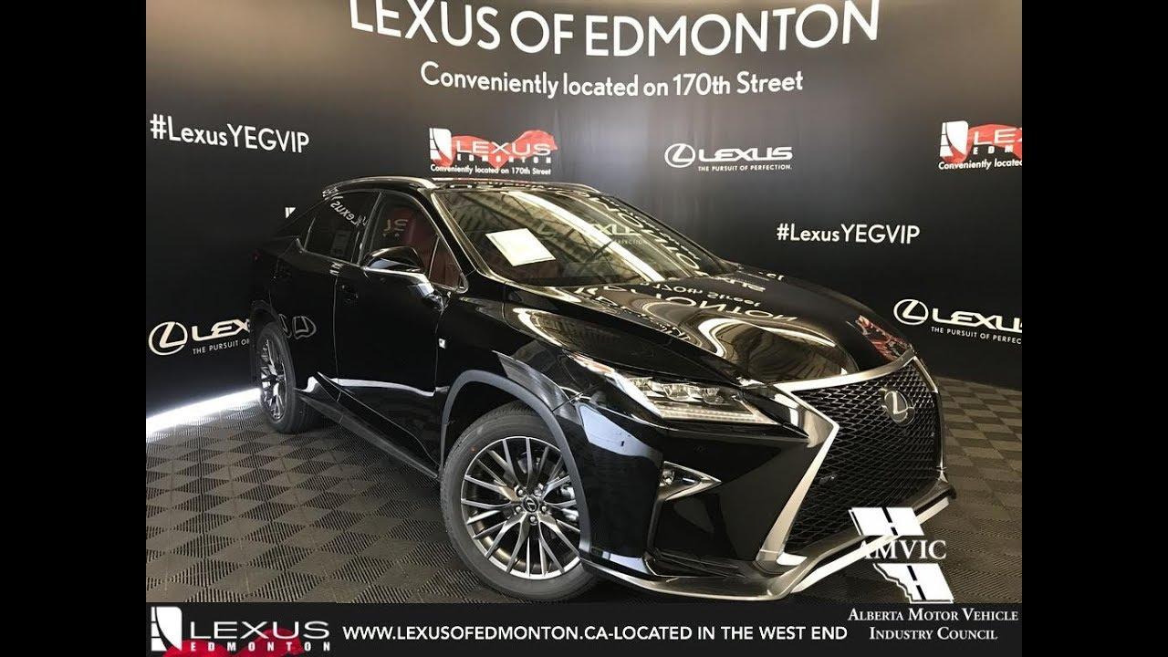 2018 Lexus Rx 350 F Sport Black