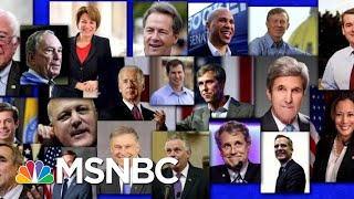 2020: Who's In, who's Out And Who Are We Waiting For? | MTP Daily | MSNBC