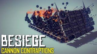 Besiege: Part 1 - Cannon Contraptions