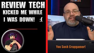 Review Tech USA Kicked Me While I'm Down! But He Loved Stealing My Video Ideas Years Ago!