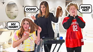 CUTTING MY HAIR To See How My Boyfriend Will React **HE GOT MAD**✂️💇♀️ | Piper
