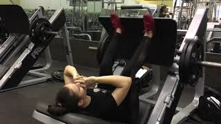 Leg Day Workout with MAR Fashion Beauties