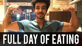 [VLOG] FULL DAY OF EATING for Lean Muscle Gains | Indian Bodybuilding Diet | AESTHETICALLY