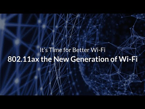 802.11ax  is the New Generation of Wi Fi