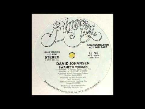 David Johansen - Swaheto Woman