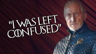 Game Of Thrones: Charles Dance Aka Tywin Lannister Confused & Disappointed At Season 8 Ending